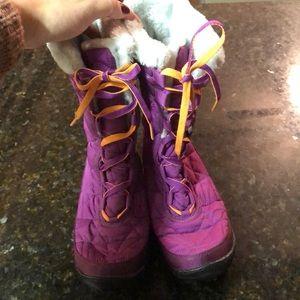 Columbia kids winter boots